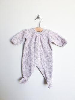 Petit Bateau Pyjamas 3m / Gently Used Re-Cycle Velour Pyjama