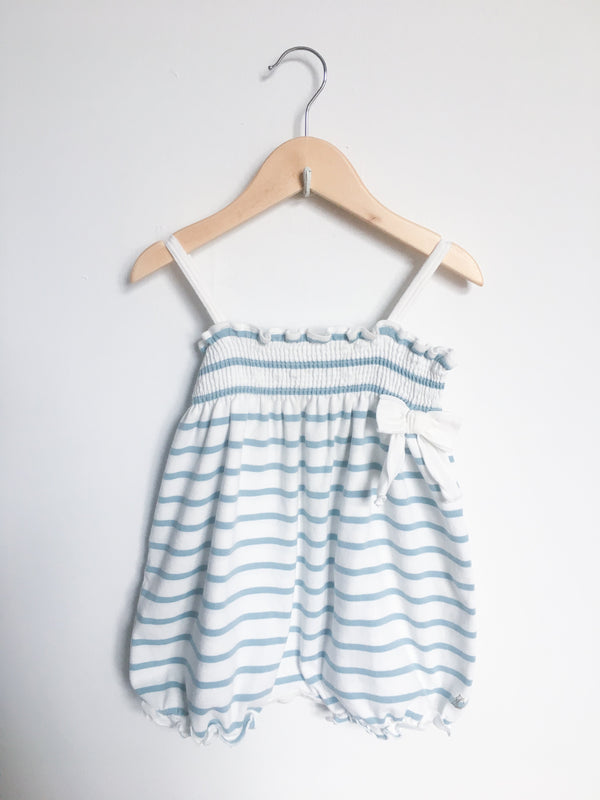Petit Bateau Rompers + Overalls 12m Re-Cycle Baby Printed Romper