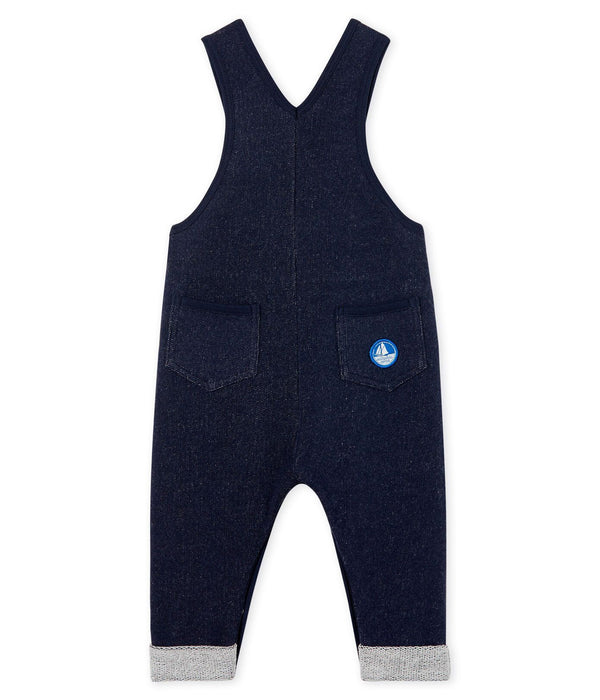 Petit Bateau Rompers + Overalls Baby Boy Long Fleece Overalls