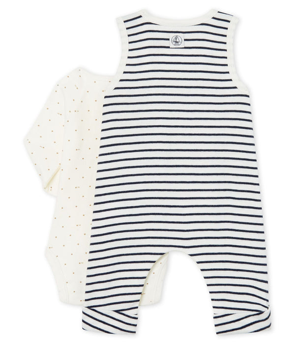Petit Bateau Sets Baby Boys' Ribbed Clothing - 2-piece set