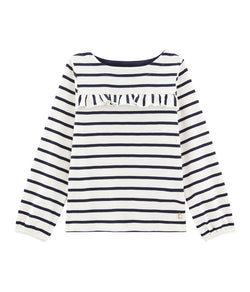 Petit Bateau Shirts Girls' Striped T-Shirt