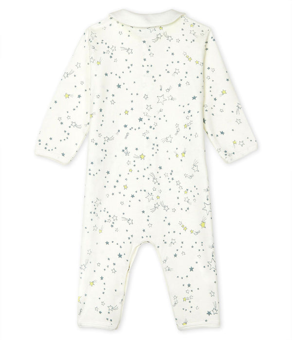 Petit Bateau Sleepsuit 6m Baby Footless Ribbed Sleepsuit