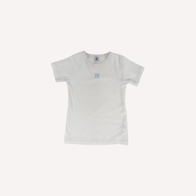 Petit Bateau T-Shirt 10y / Preloved Re-Cycle Graphic White T-Shirt