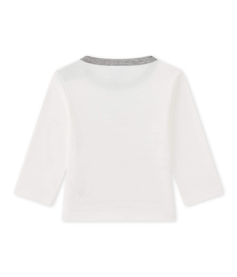 Petit Bateau Tops + Bodysuits 3m Baby Long-Sleeved T-Shirt