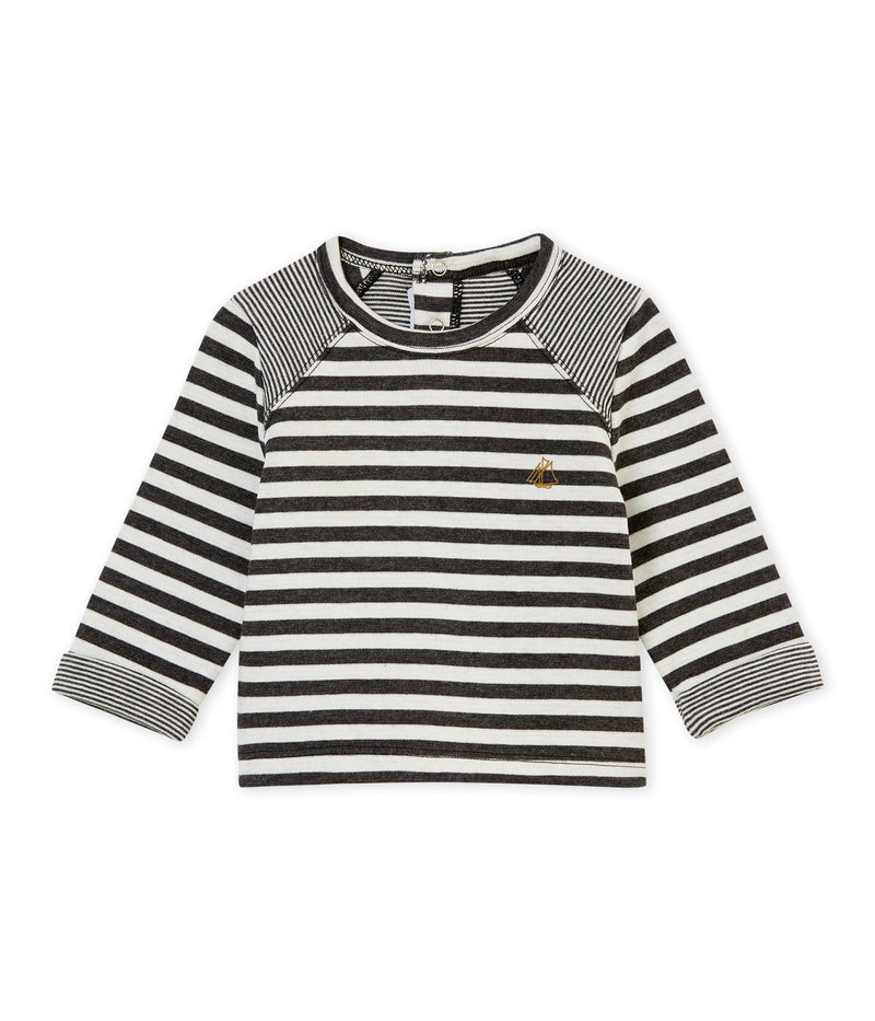 Petit Bateau Tops + Bodysuits 3m Baby Striped T-Shirt