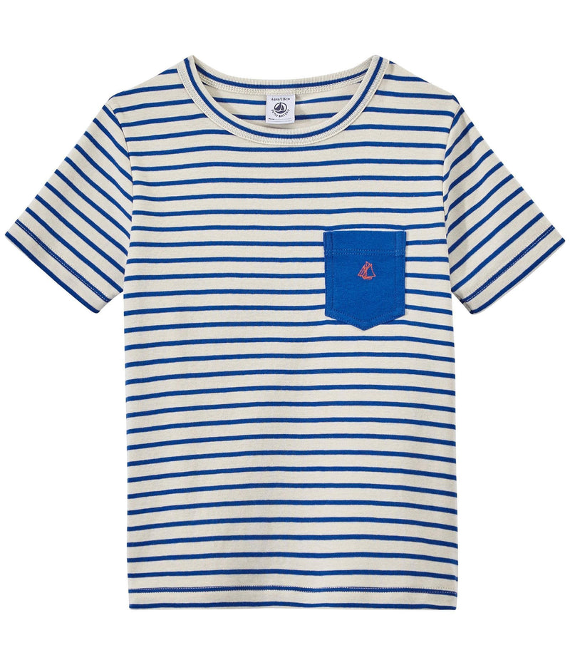 Petit Bateau Tops + Bodysuits 3y T-Shirt with Breast Pocket