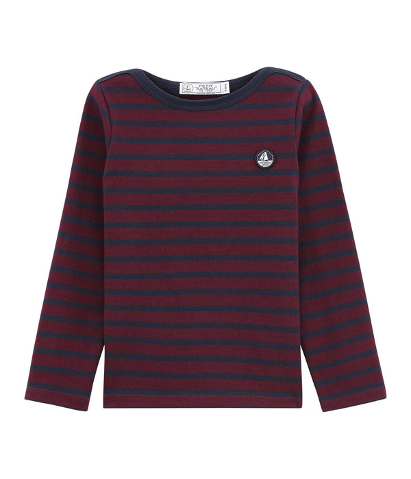 Petit Bateau Tops + Bodysuits 4y Child's Iconic Breton Top
