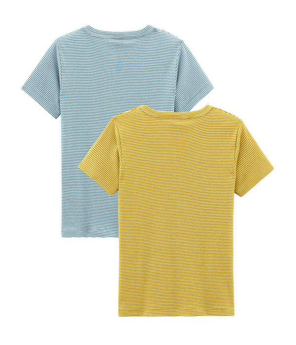 Petit Bateau Underwear Boys' Short-sleeved T-shirt - Set of 2