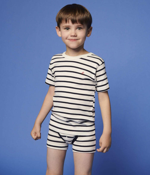 Petit Bateau Underwear Striped Boxers - Set of 2