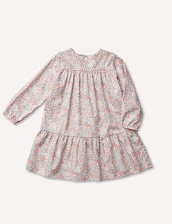 Petits Vilains Dress Florence Tier Dress - Sweet May Blush