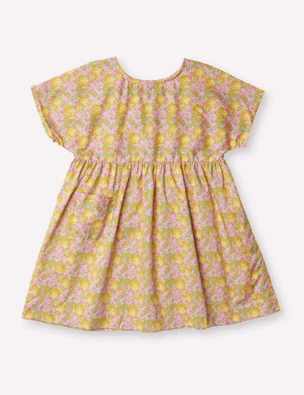 Petits Vilains Dresses + Skirts 18/24 Marie Everyday Dress - Clementina Gold