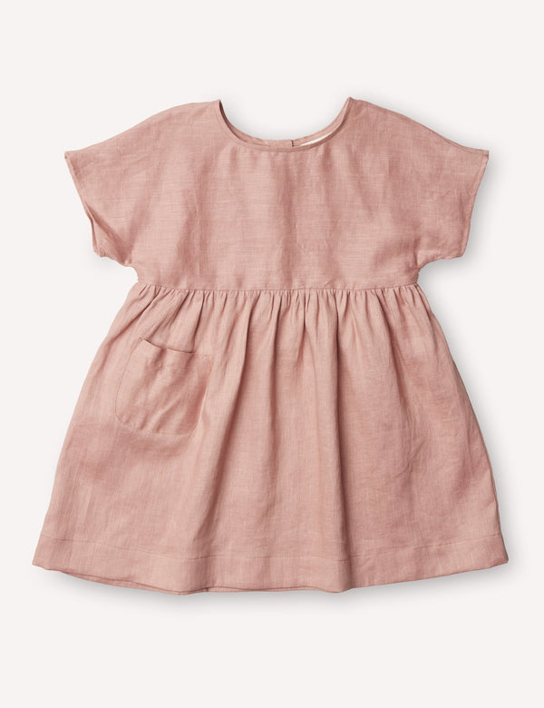 Petits Vilains Dresses + Skirts 18/24 Marie Everyday Dress - Tea Rose