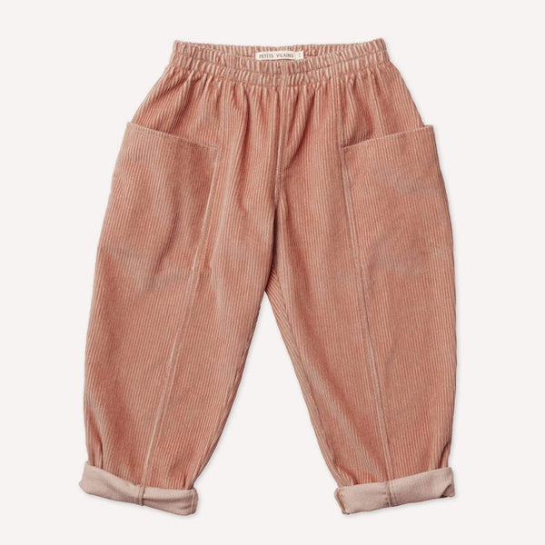 Petits Vilains Pants Maxence Pocket Pant - Rose