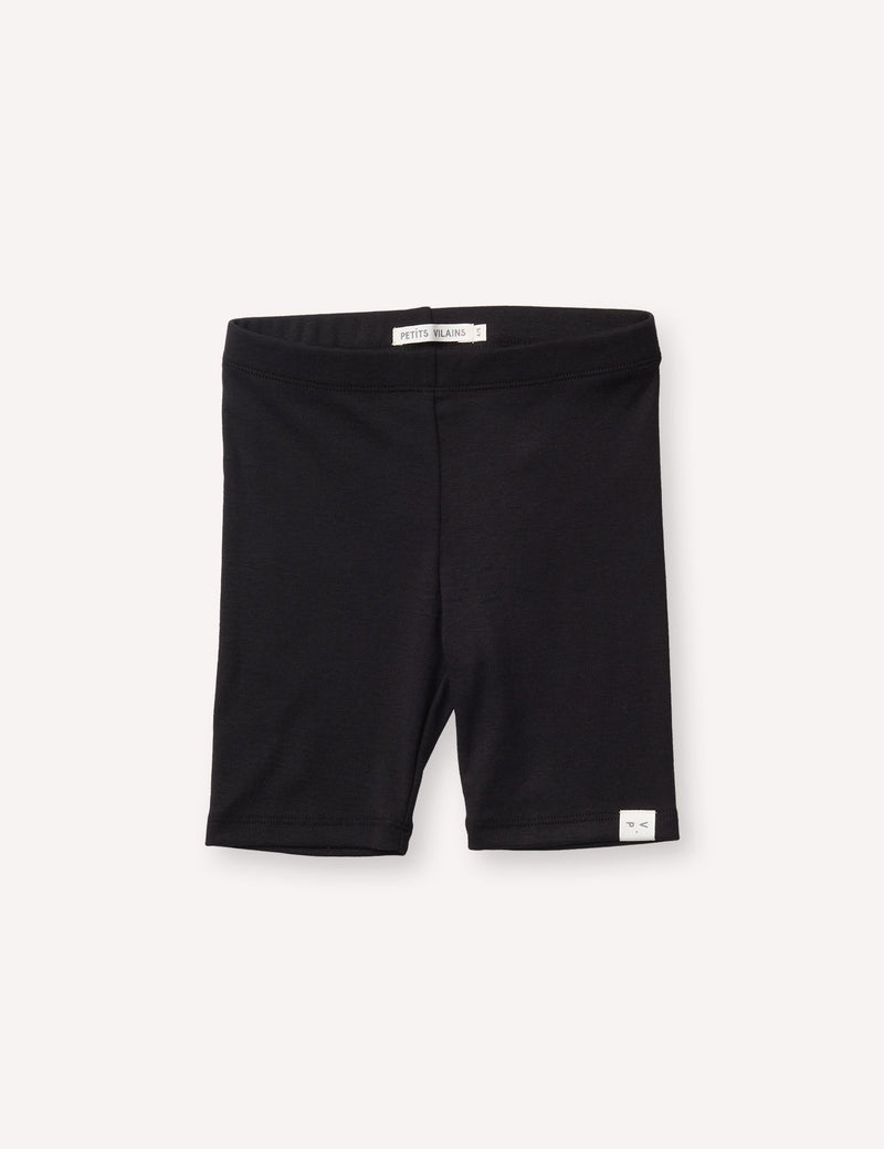Petits Vilains Shorts Laure Bike Short - Black