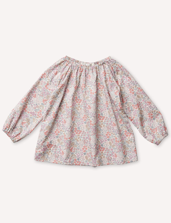 Petits Vilains Tunic Simone Raglan Tunic - Sweet May Blush