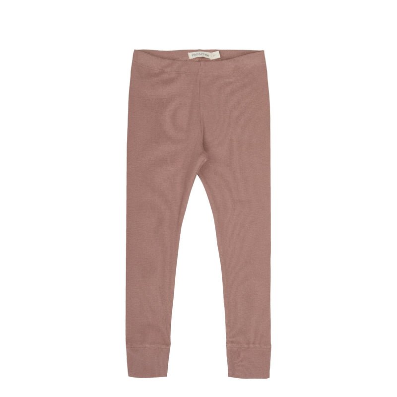 Phil & Phae Leggings Rib leggings - powder