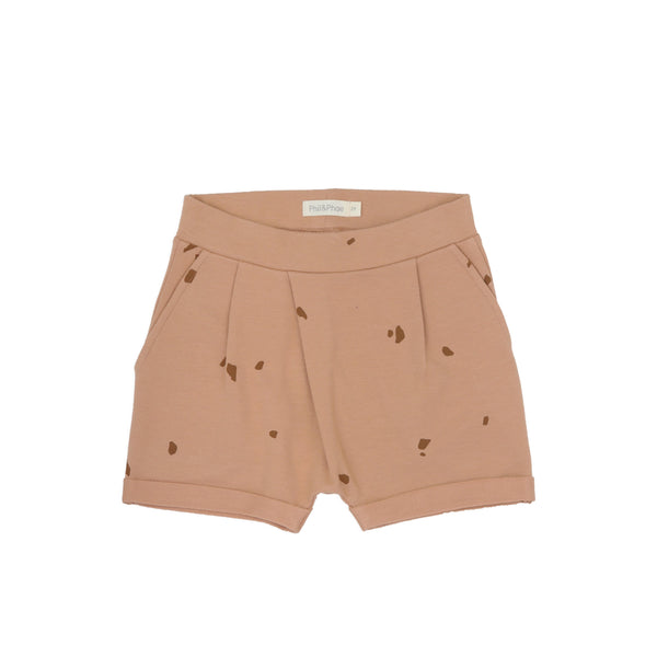 Phil&Phae Shorts Fold-over Shorts stones - Warm Biscuit
