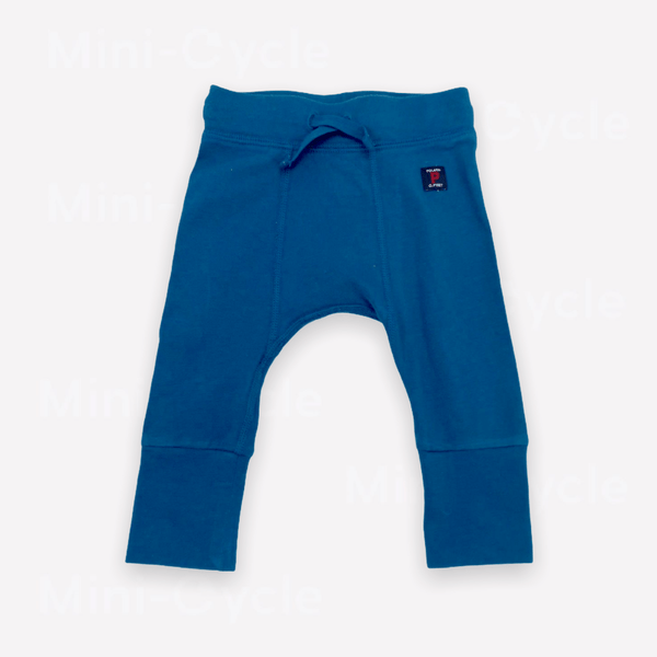 Polarn O.Pyret Pants 0-1m / Preloved Re-Cycle Solid Teal Pants