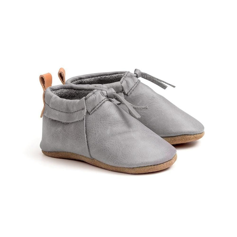 Pretty Brave Footwear MOC GREY (RESCUES)