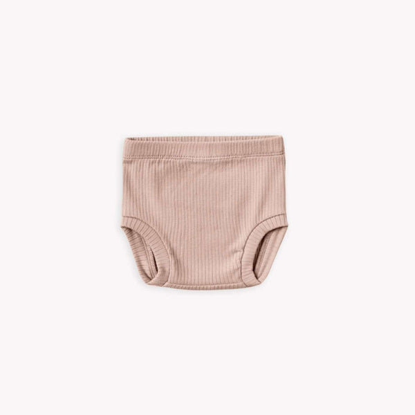 Quincy Mae Bloomers Ribbed Bloomer - Petal
