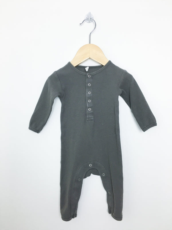 Quincy Mae Romper 3-6m / Well Loved Re-Cycle Ribbed Jumpsuit