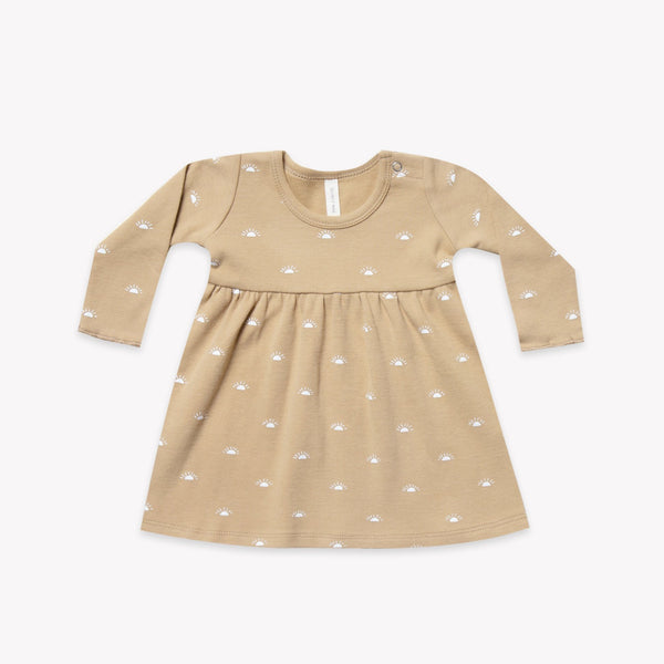 Quincy Mae Rompers 12-18m Baby Dress - Honey