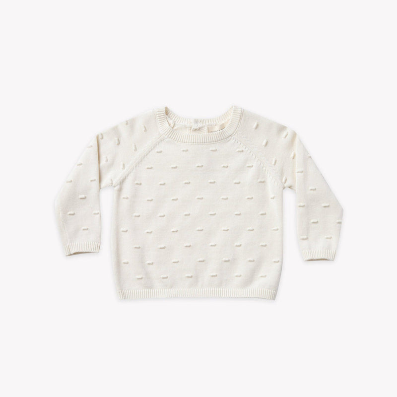 Quincy Mae Sweater Bailey Knit Sweater - Ivory
