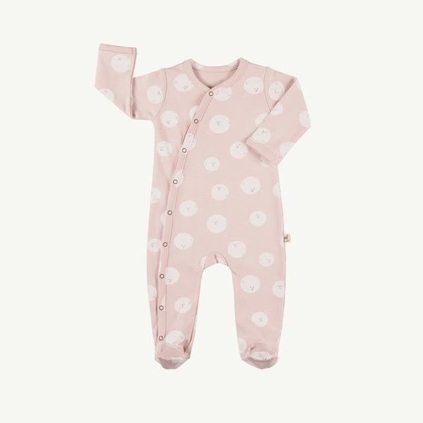 Red Caribou Romper Moon Faces Peach Whip Jumpsuit (Rescues)