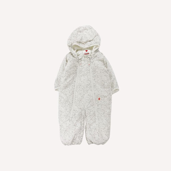 Reima Snowsuit 3-6m / Like New Re-Cycle Patterned White Snowsuit