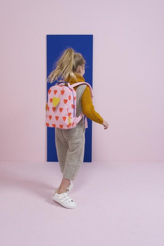 Rilla Go Rilla Accessories Miss Rilla Backpack - Violet Hearts