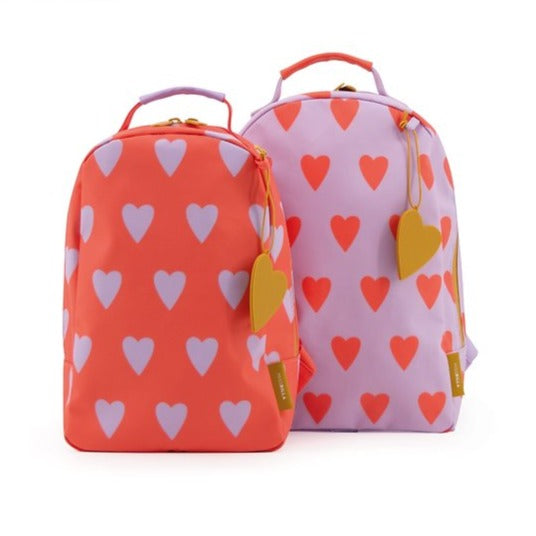 Miss Rilla Backpack - Violet Hearts