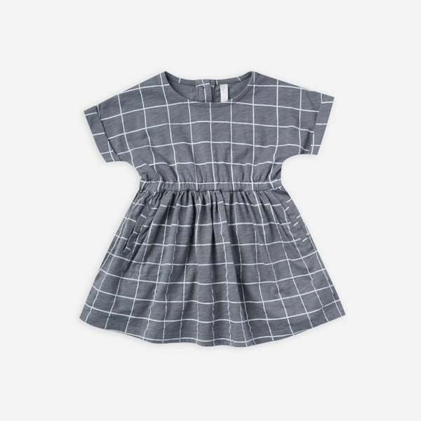 Rylee + Cru Dress Kat Dress - Grid