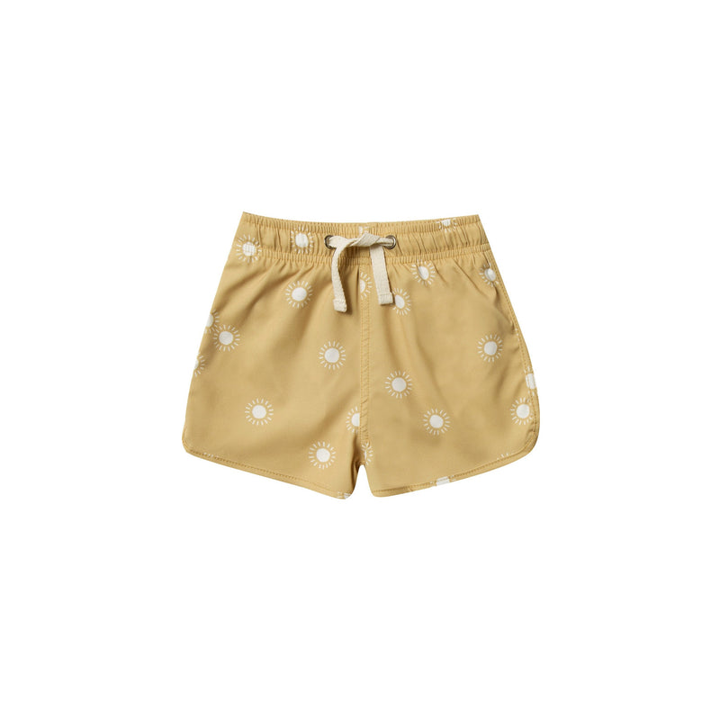 Sunburst Swim Trunk - Citron