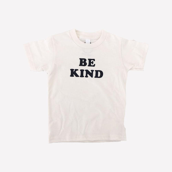 Savage Seeds T-Shirt Be Kind Tee - Natural White