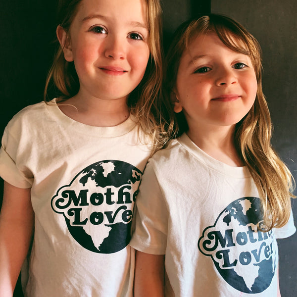 Savage Seeds T-Shirt Mother Lover Tee - Natural White