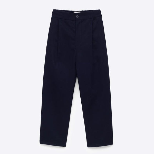Sem Label Pants Relaxed Trouser - Navy Twill (Rescues)