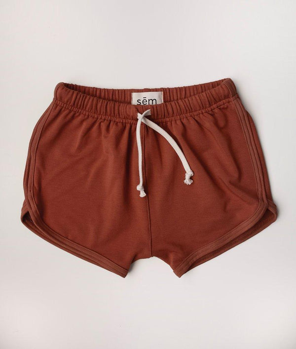 Sem Label Shorts 2y Track Shorts - Red Sand