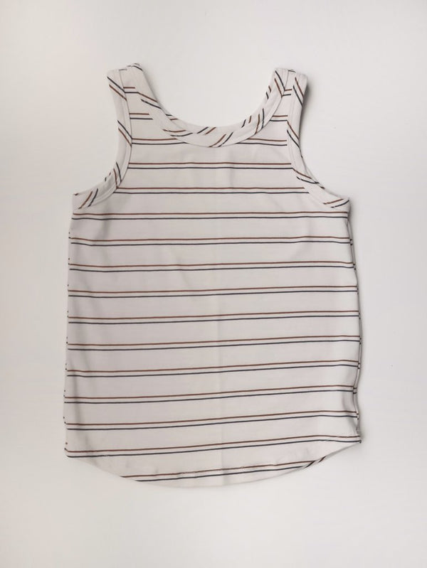 Sem Label Tops + Bodysuits 2y Tank Top - Retro Stripe