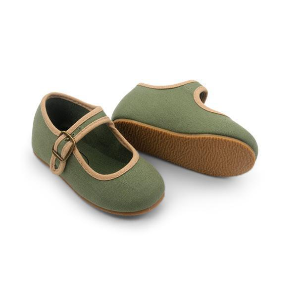 Small Lot Shoes Mary Jane Shoes - Olive