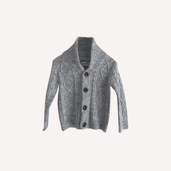 Sovereign Code Cardigan 18m / Like New Re-Cycle Grey Solid Cardigan
