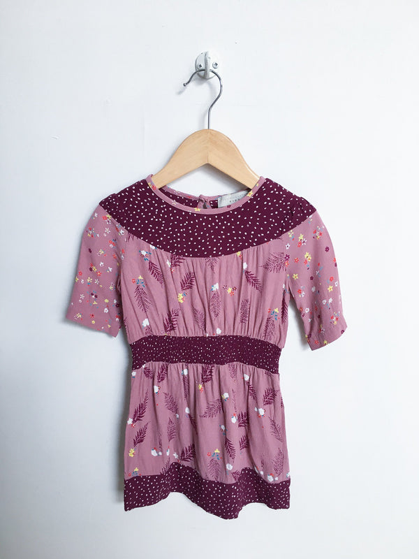 Stella McCartney Dresses + Skirts 2y / Like New Re-Cycle Short-Sleeve Patterned Dress