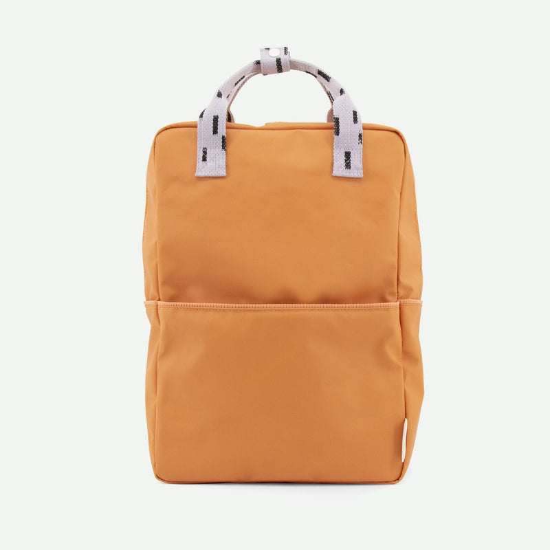 Large Backpack Sprinkles - Apricot Orange + Lavender