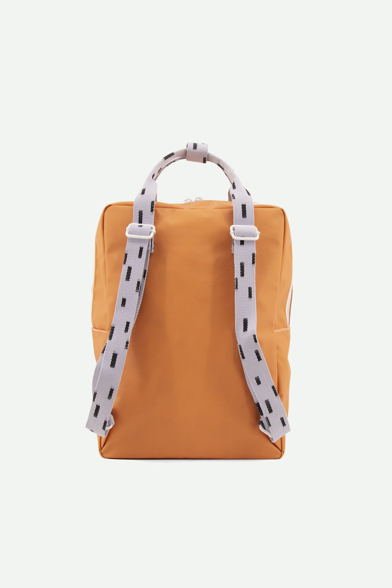 Sticky Lemon Backpack Large Backpack Sprinkles - Apricot Orange + Lavender