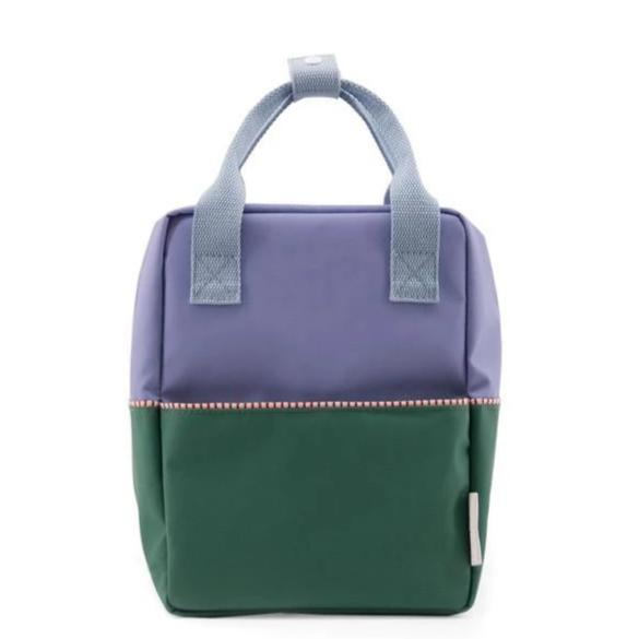 Sticky Lemon Backpack Small Backpack Colourblocking - Moustafa Purple