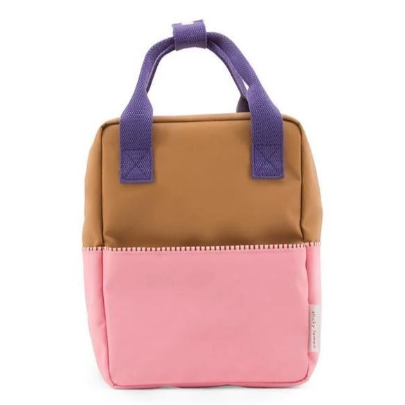 Sticky Lemon Backpack Small Backpack Colourblocking - Panache Gold