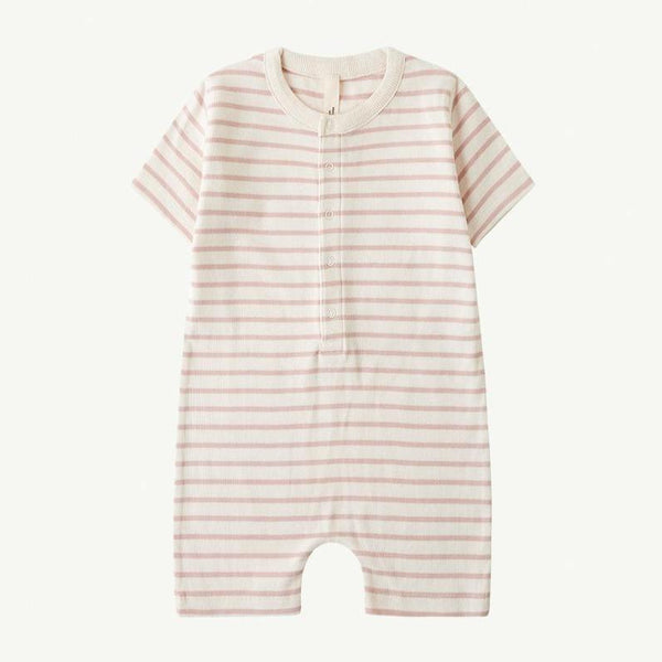 Summer and Storm Jumpsuit Jumpsuit - Rose Stripe