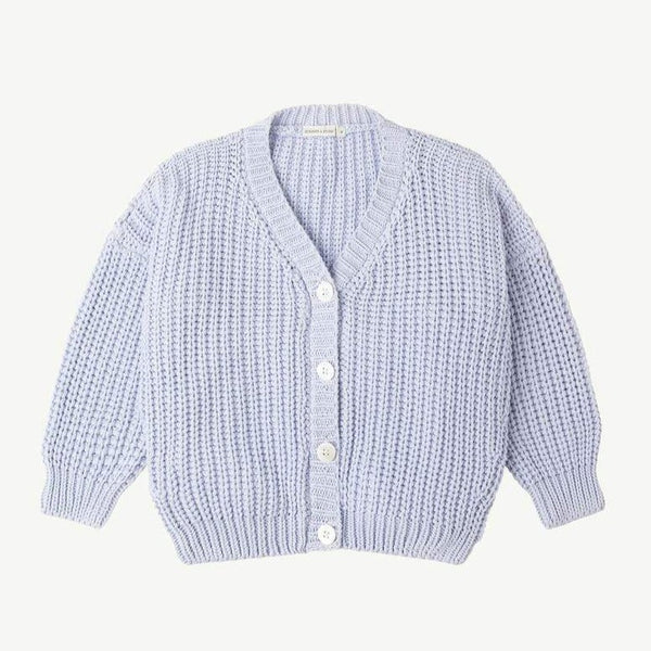 Chunky Cardigan - Powder Blue