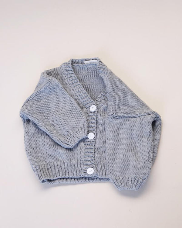 Summer & Storm Sweaters Classic Cardigan - Grey