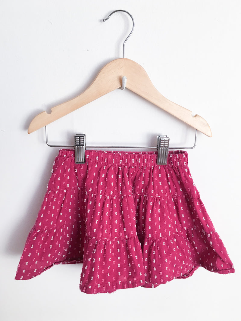 Tea Dresses + Skirts 2T / Gently Used Re-Cycle Plum Twirl Skirt