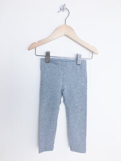 Tea Leggings 2T / Gently Used Re-Cycle Grey Skinny Leggings